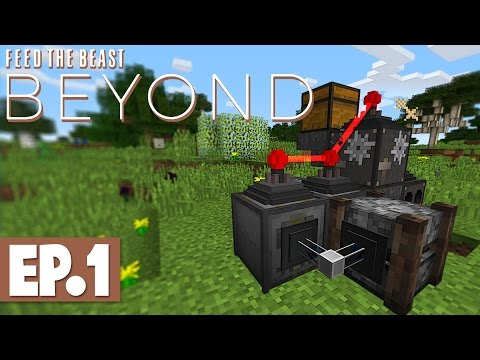 FTB Beyond - Oil Power, Lasers & Atomic Reconstruction! #1 [Modded Survival]
