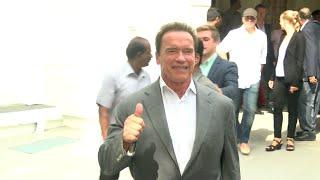 I Movie Audio Launch Arnold Schwarzenegger Meets