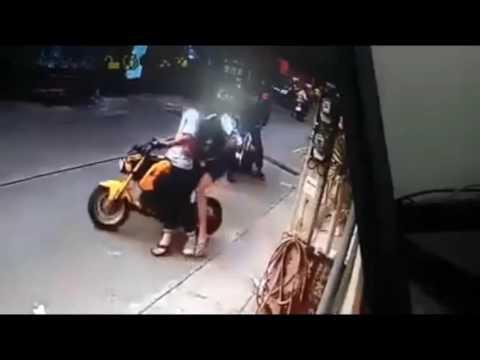 geng motor bacok pemuda