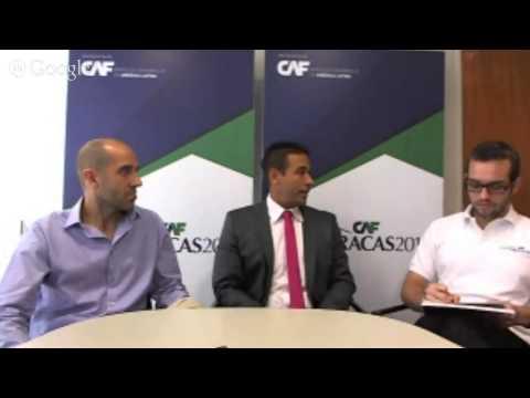 Hangout sobre los pacers del Maratón CAF-Caracas 2014