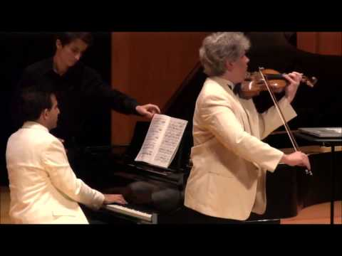 R Strauss Sonata with Nick Kitchen and Max Levinson