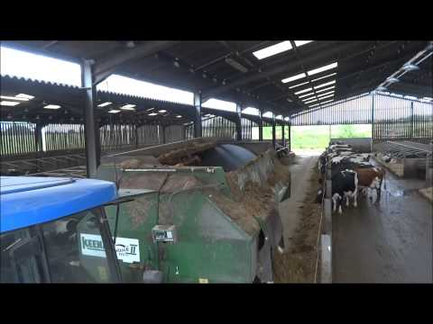 A typical day in the cow shed with lely robots