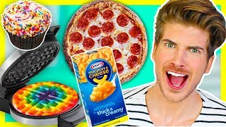 MAKING WAFFLES OUT OF RANDOM FOODS! | 2