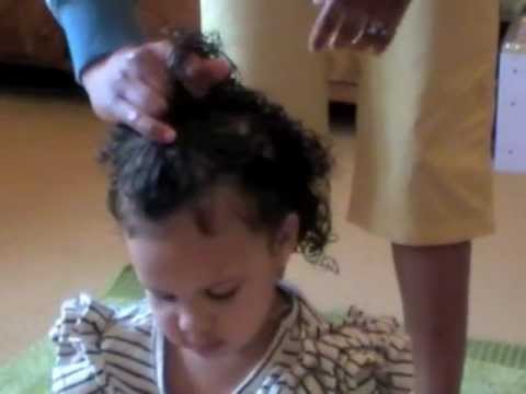 Cute Kids Hairstyles for Mixed Race Hair