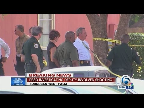 Sheriff: Fla. deputy who fatally shot suspect 'lucky to be alive'