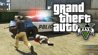 GTA 5 COPS VS ROBBERS! (Custom Game Mode GTA V Online