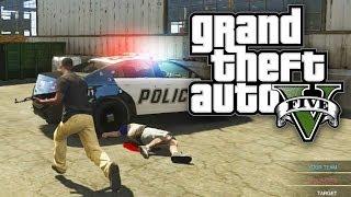 GTA 5 Online COPS VS ROBBERS! Custom Game Mode (GTA V