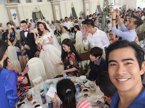 Lương Thế Thành, Thúy Diễm rạng rỡ trong tiệc cưới ở quê nhà [12-04-2016]
