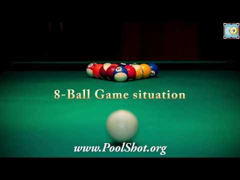 8-Ball Game situation #1- Pool & Billiard Training Lesson