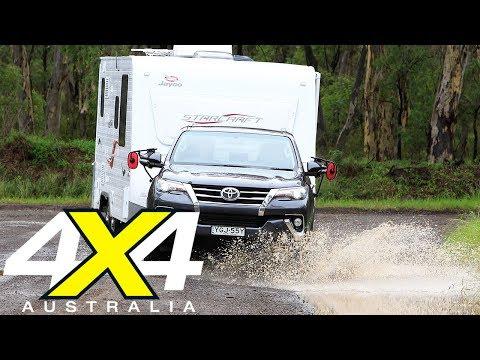 2017 4x4 Tow Test: Everest, Pajero Sport, MU-X, Prado, Fortuner, Trailblazer   4X4 Australia