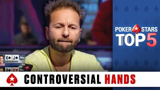 Top 5 Most Controversial Poker Hands | PokerStars