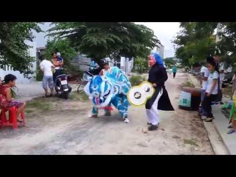 [ Trung thu 2015] Múa lân trung thu 2015 ở làng quê