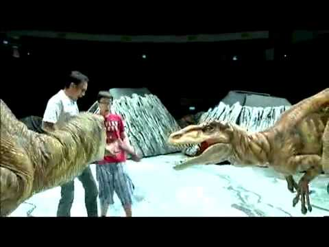 Gurmit Singh - Walking with Dinosaurs.flv