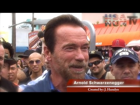 Arnold Schwarzenegger Venice Muscle Beach / Created by: J. Hasulyo