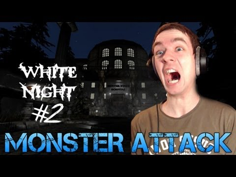 Amnesia: White Night - Part 2 - MONSTER ATTACK - Total Conversion mod Gameplay/Commentary
