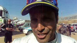 Nasser Al Attiyah at the end of Dakar 2014