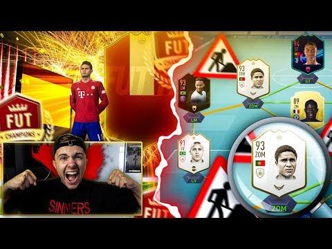FIFA 19: XXL TEAM UMBAU + ELITE Fut Champions REWARDS Pack Opening 🔥🔥