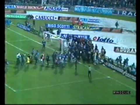 Finale coppa Uefa di andata 1989: Napoli-Stoccarda