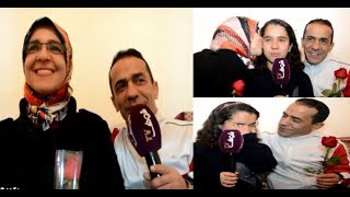 بالفيديـــــو..أجمل وأروع قصة حب في المغرب |