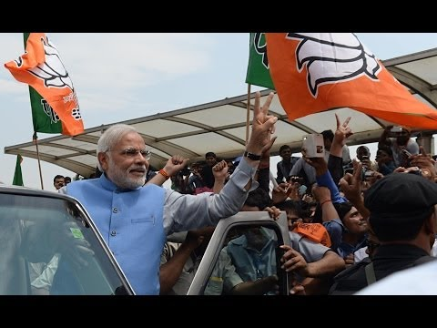 Dunya News - Narendra Modi receives heroic welcome in New Delhi
