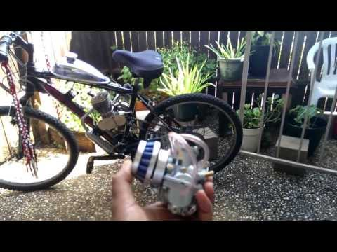 Speed upgrades # 2 for 66cc gasbike.