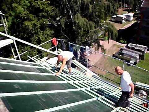 Einlatten dach