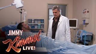 George Clooney And Jimmy Kimmel Brought E.R. Back to Life