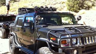 hummer h2 sut after market modifications videos