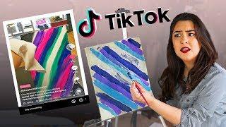 Exploring TikTok's Art World...