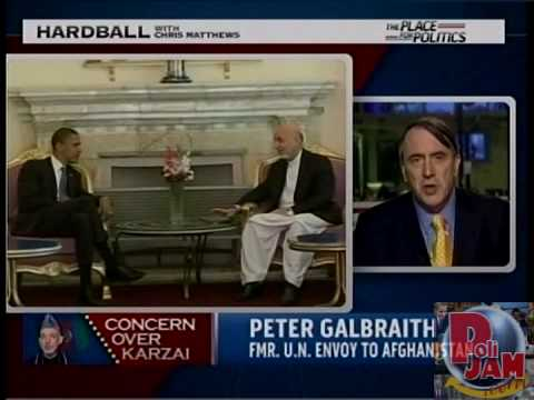 Ex-UN Envoy: Afghan President Hamid Karzai 'May Be Taking Illegal Drugs'