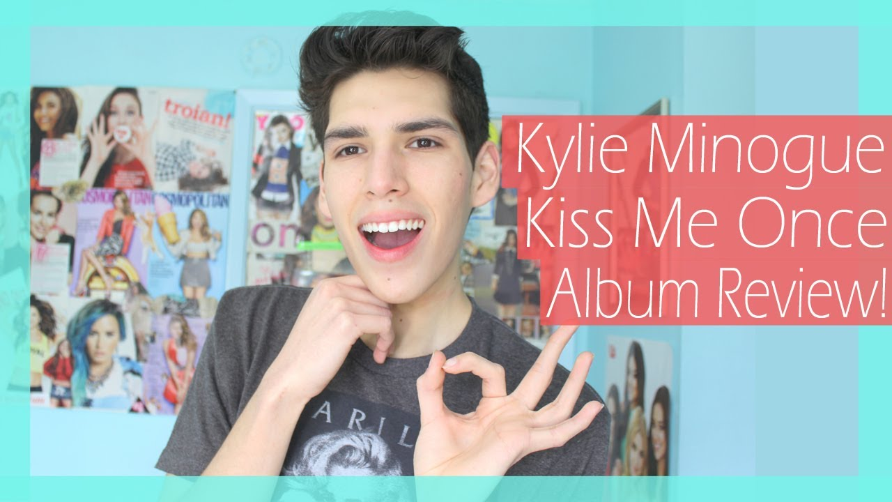 """Kylie Minogue """"Kiss Me Once"""" Album Review! - YouTube Kylie Minogue Kiss Me Once Photoshoot"""