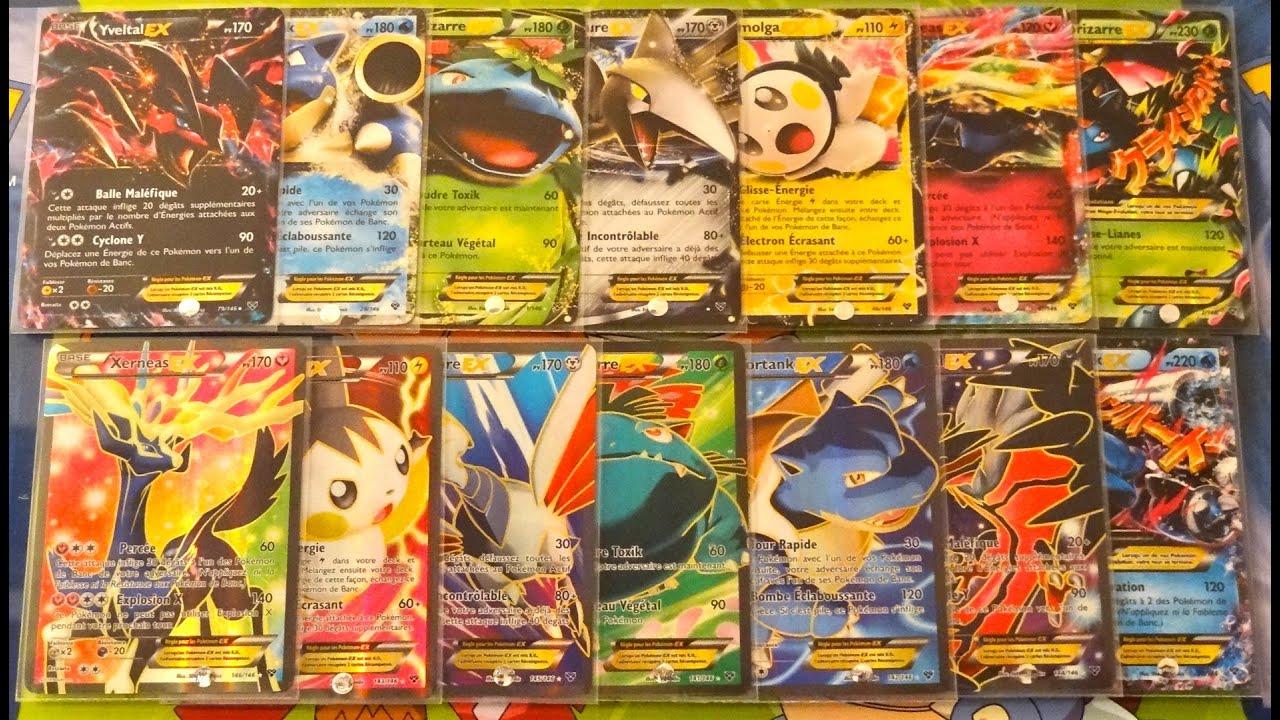 Toutes les cartes pok mon ultra rares de xy des ex full art m ga volution exceptionnel - Les mega evolution ...