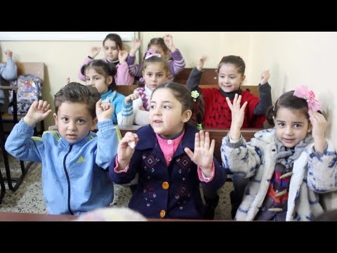 For Syrian children with disabilities, schooling amid conflict