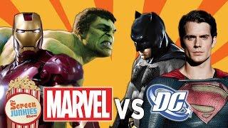 Marvel's Civil War vs. DC's Justice League!