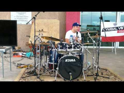 SABIAN, Tour Cymbal Vote 2013, Audio y Música de tapachula PT4