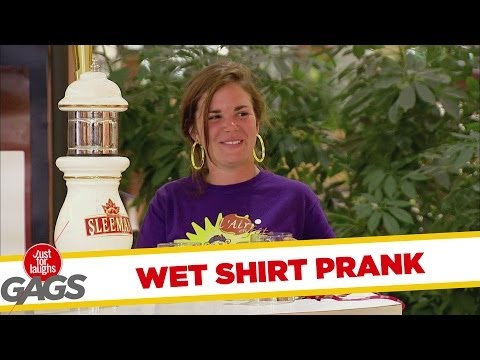 Beer & Wet T-Shirt Prank