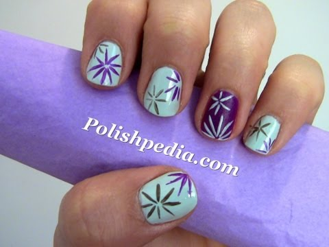 Easy Nail Art For Beginners 3 Nails Video