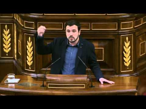 Discurso de Alberto Garzón en Sesión de Investidura