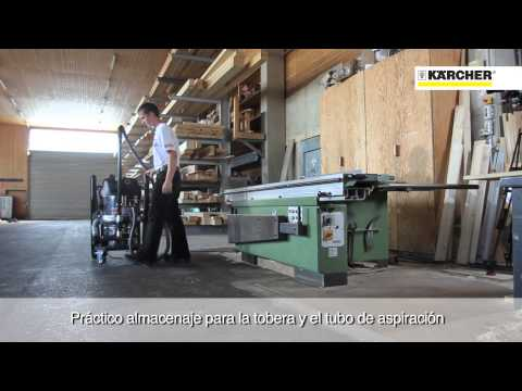 Kärcher aspiradores industriales IVC madera