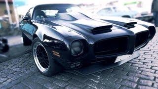Custom 1972 Pontiac Firebird - V8 sound!