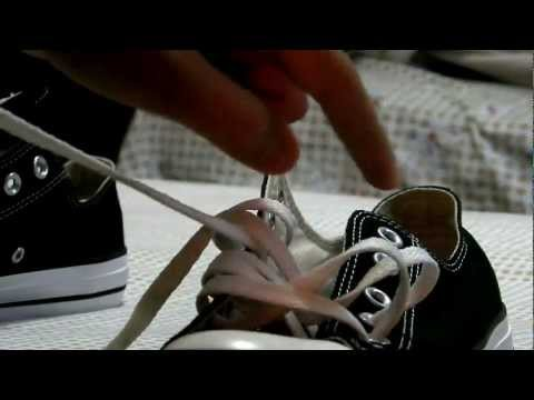 How to lace up converse like wiz khalifa taylor gang, lacing up with swag and creactivity subscribe ppl !! THANKS