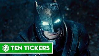 Top 10 bộ giáp mạnh nhất của Batman | Ten Tickers No. 162