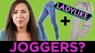 Women Try To Wear Fancy Sweatpants • Ladylike
