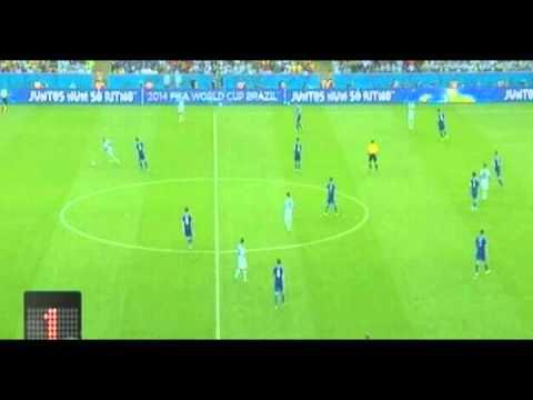 Javier Mascherano vs Bosnia l WC l Brasil l