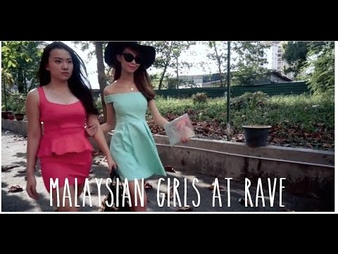 Malaysian Girls at Rave