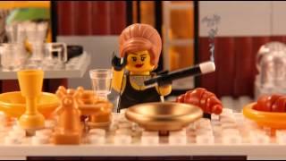 Classic Movie Scenes in LEGO