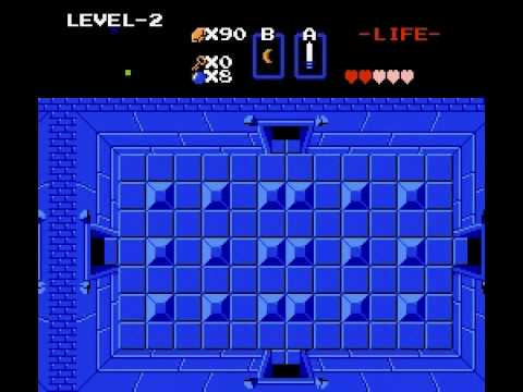Legend of Zelda - The Legend of Zelda Playthrough Dungeon 2+link - User video