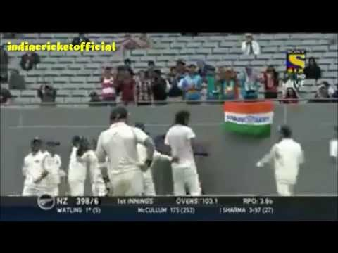 Ishant Sharma 9 Match Wickets vs New Zealand 1st Test 2014