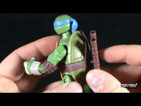Toy Spot - Playmates ToysTeenage Mutant Ninja TurtlesBattle Shell Leonardo