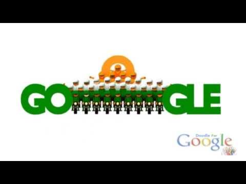 Google Celebrates 65th Republic Day (India) 2014  - GDoodlesMania